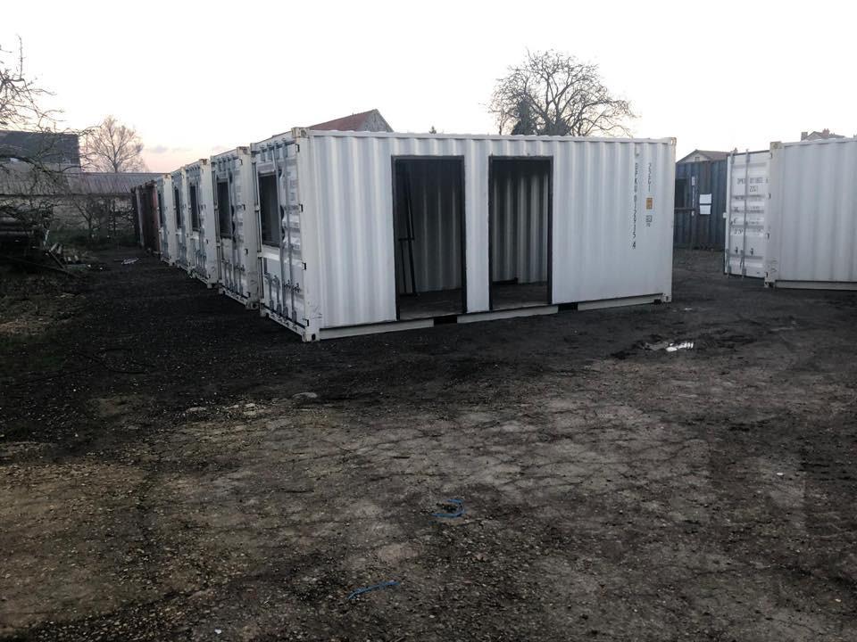 Containers habitables pour faire face à la crise du logement