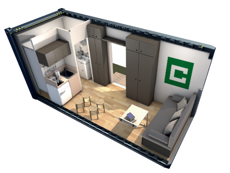 SOLUTIONS HABITABLES CONTAINER