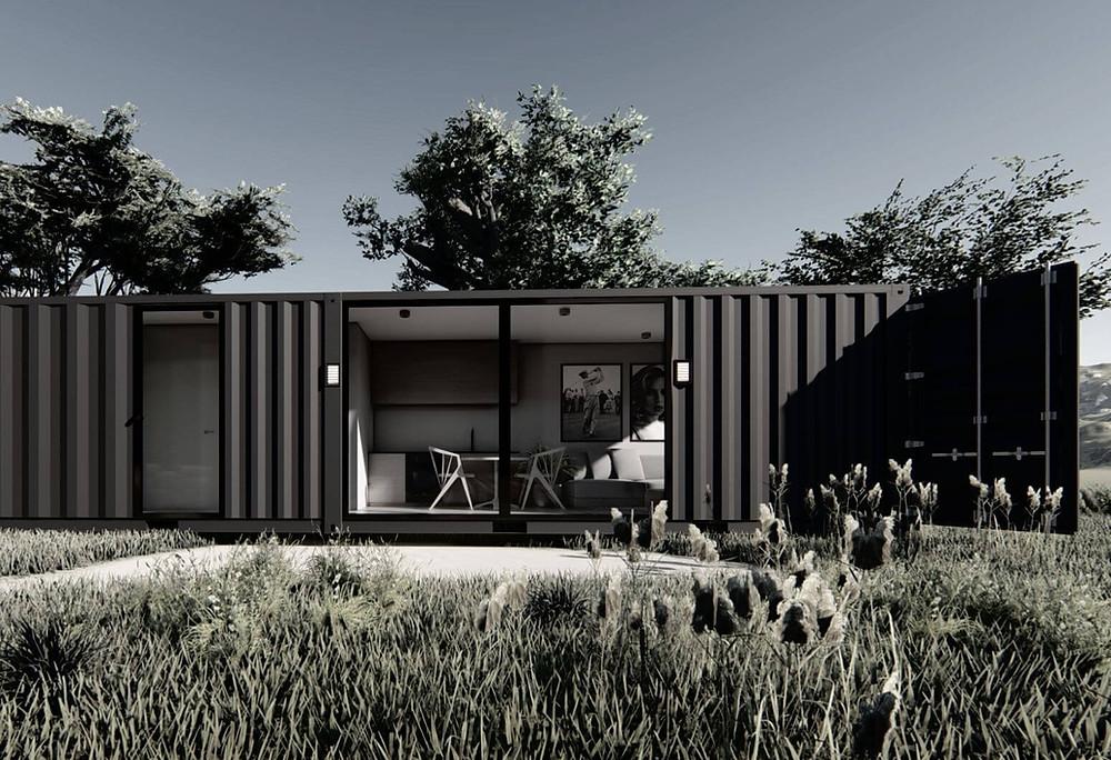 studio de jardin en container