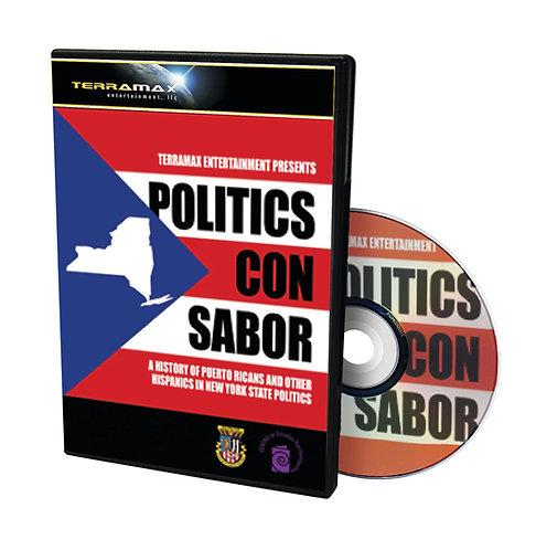 Politics Con Sabor — 2 DVDs