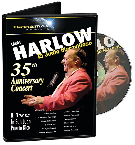 Larry Harlow – 35th Anniversary Concert — 2 DVDs