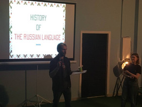 [S!E Event #9] - The History of The Russian Language