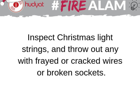 #FireAlam This Christmas Season