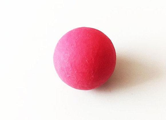 Rozā šokolādes bumbas