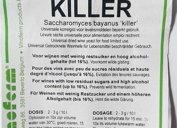 "Vīna raugs ""Killer"""