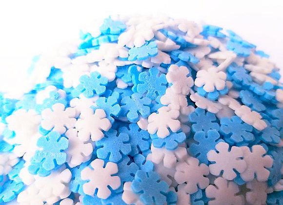 Sniegpārsliņas zili-baltas(Termoizturīgas)