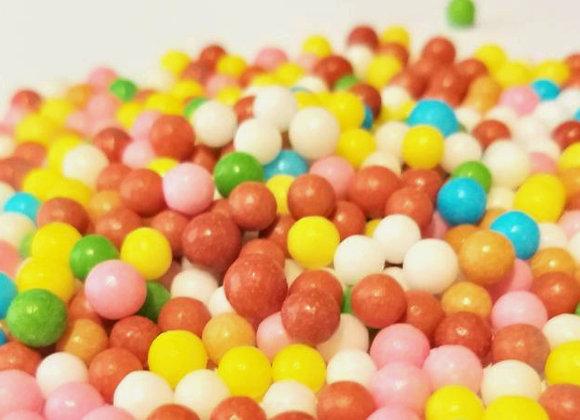 Cukura lodītes KRĀSAINAS 4mm