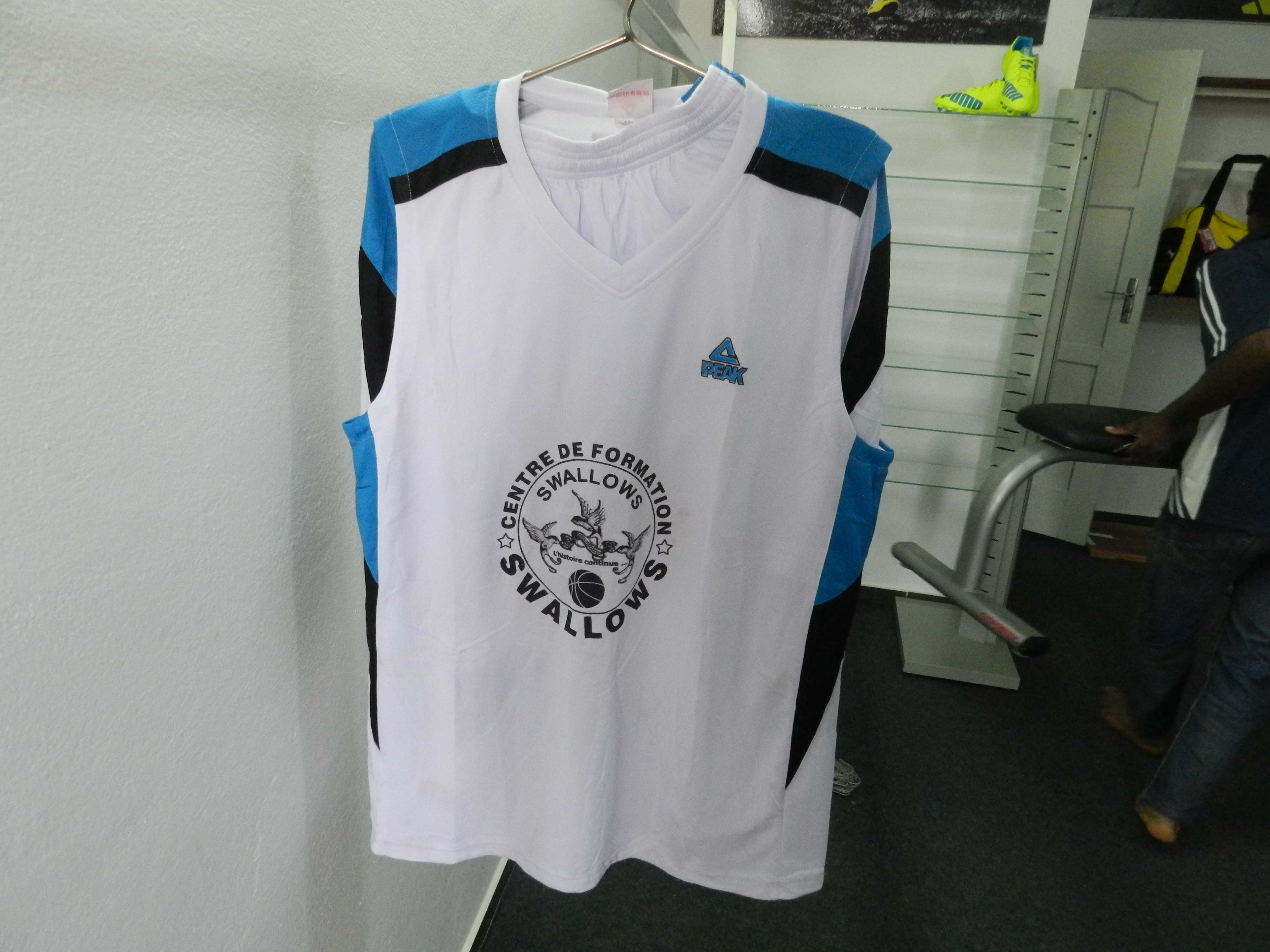 Maillots de basket Minimes Swallows