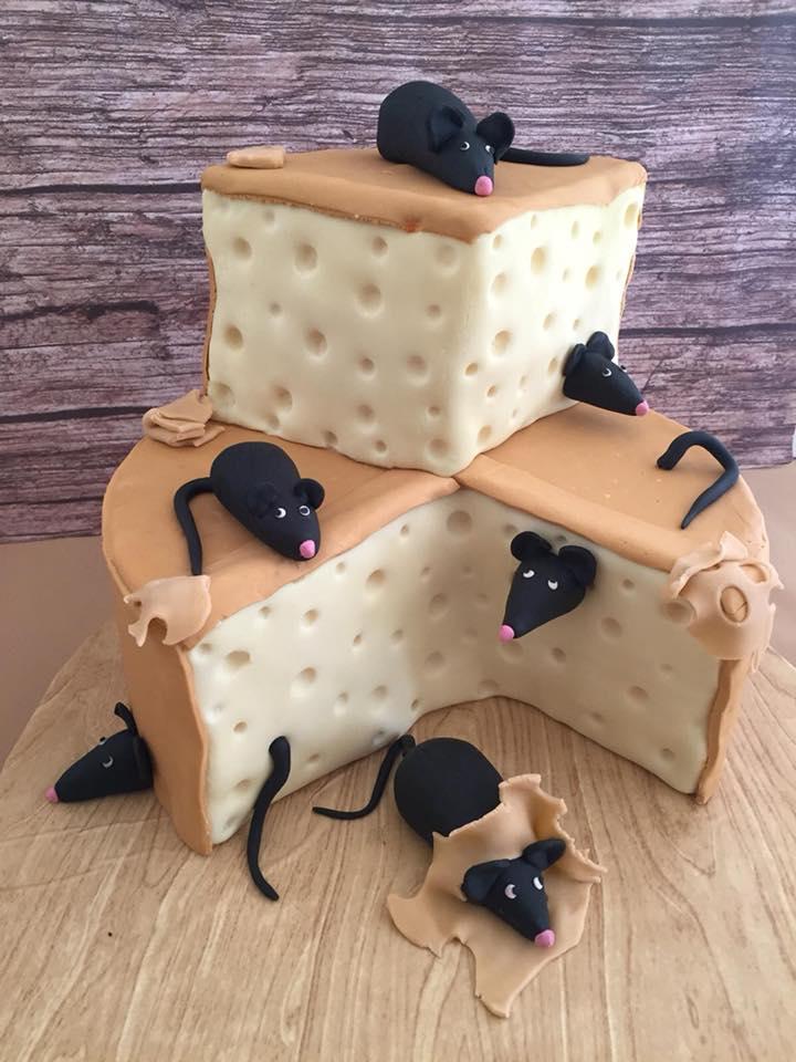 עוגת גבינה עכברים