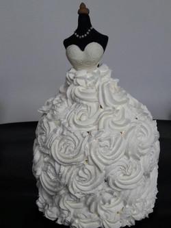עוגת שמלת כלה
