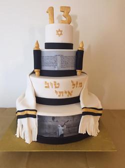 עוגת בר מצווה איתי