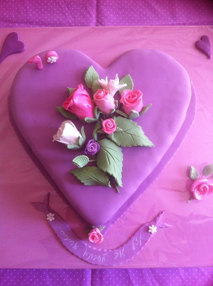 עוגת לב