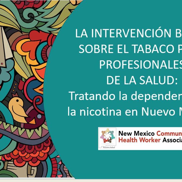 CHW training: tobacco interventions (Spanish)