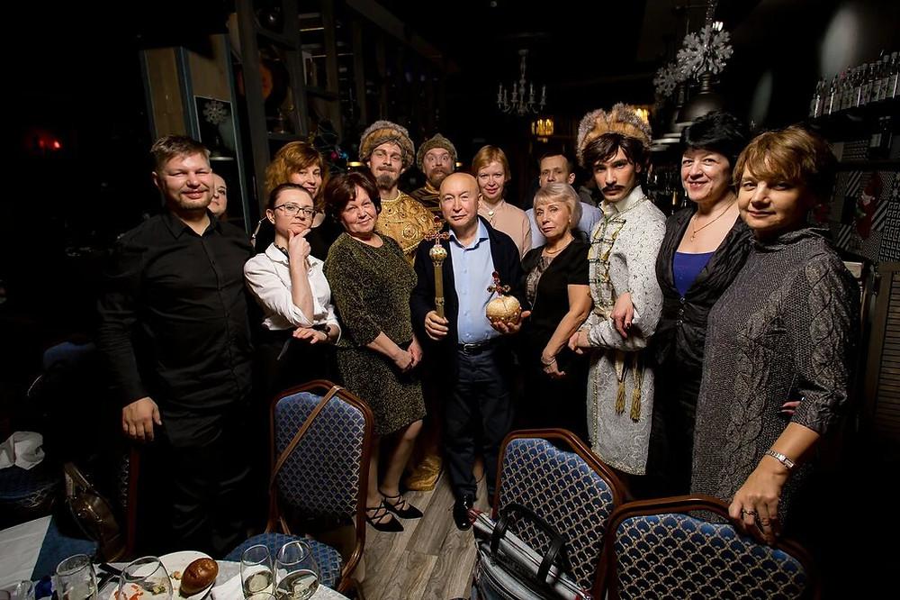 Иммерсивный банкет на новый год Иван Васильевич меняет профессию