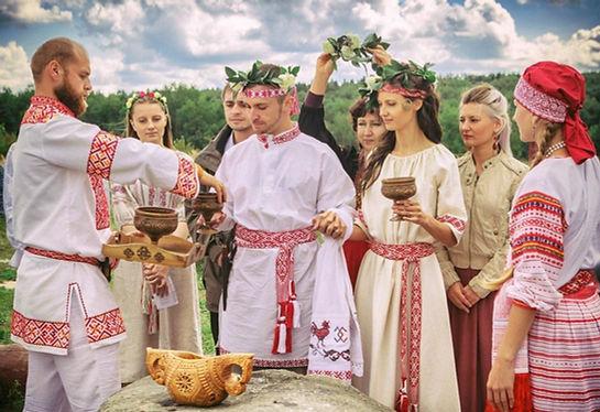 Иммерсивная свадьба в русском стиле