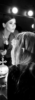 Актрисы Event-театра - подготовка к спектаклю