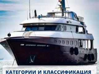 Категории и классификация морских судов. Методы и алгоритм процедуры оценки.