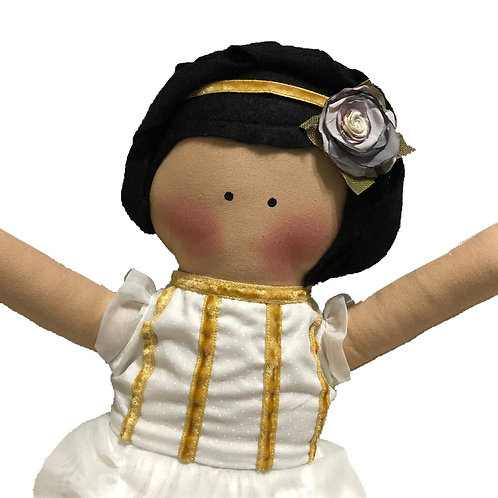 Marcela- clássica boneca de pano Mimo