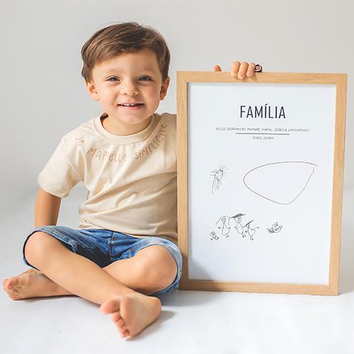 """T-shirt unissex infantil """"Simplicité"""""""