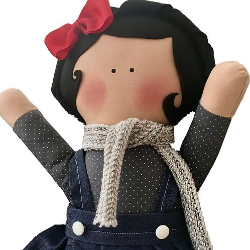 Amanda - clássica boneca de pano Mimo