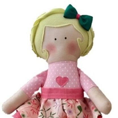Ana - clássica boneca de pano Mimo