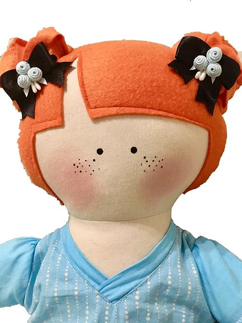 Laís - clássica boneca de pano Mimo
