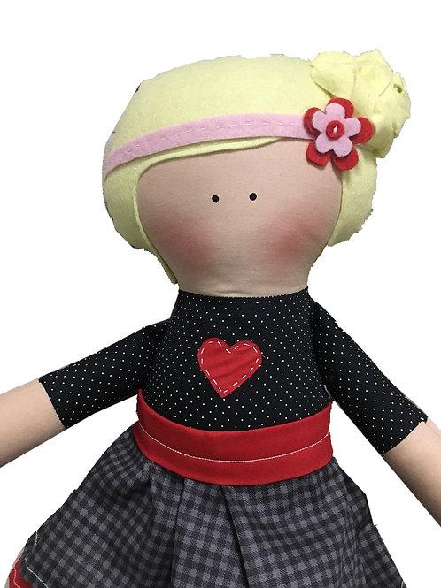 Olivia - clássica boneca de pano Mimo
