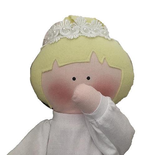 Ella- clássica boneca de pano Mimo