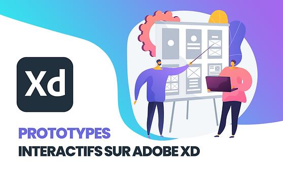 Prototype interactif freelance adobe xd