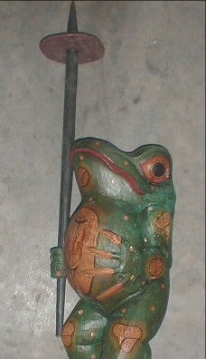 Frog hand made in Bali Indonesia