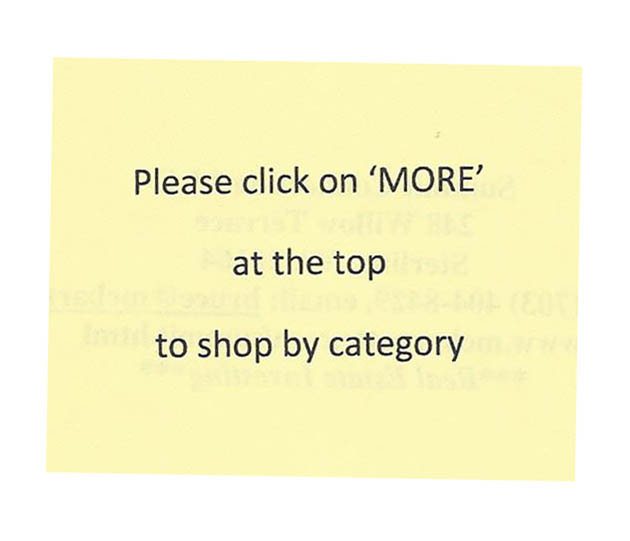 Check out the 'More' section for categorized listings