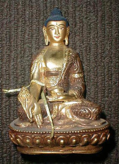 Nepal Gold Buddha