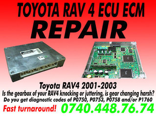 Toyota RAV 4 ECU repair