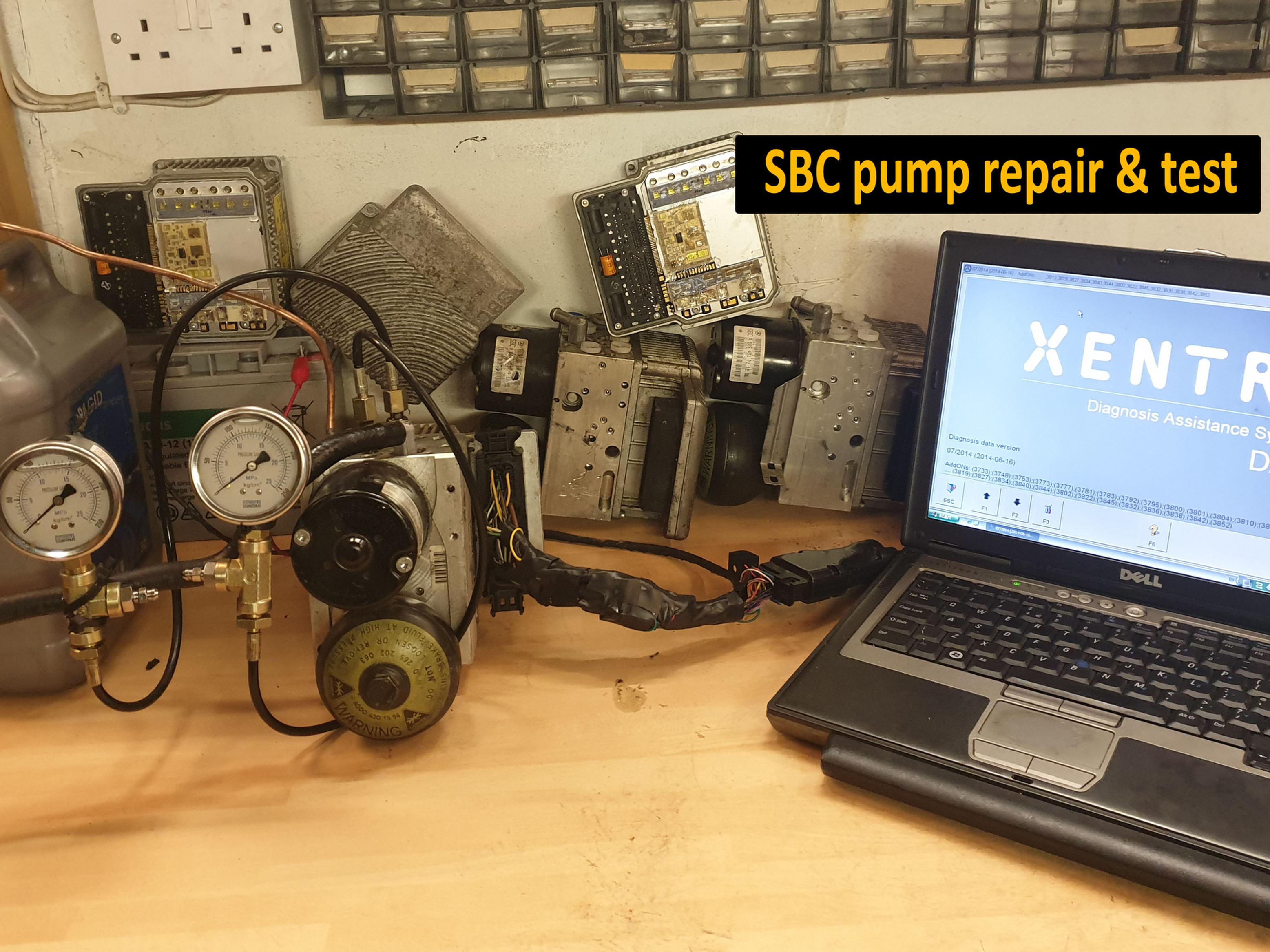 Mercedes SBC repair - Complete