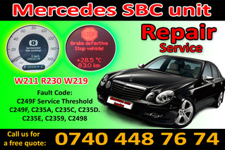 Mercedes W211 - Sbc Repair + Reset