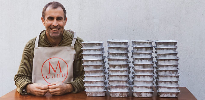 Melanzane Guru Comfort Through Food Initiative
