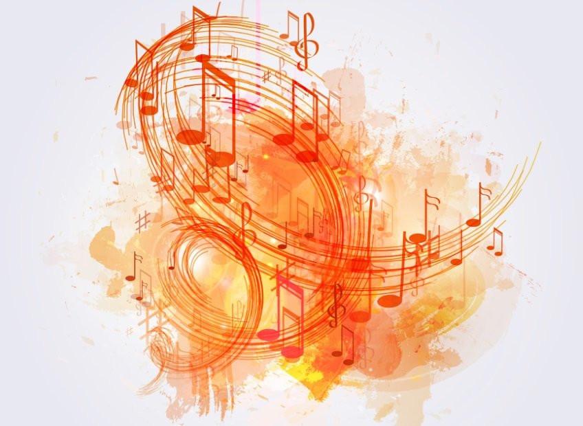 Illustration of sonic branding