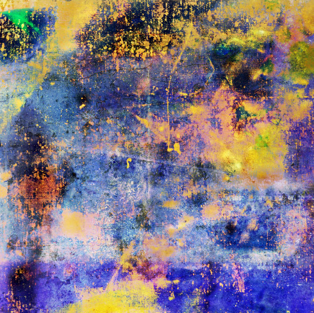 DIGITAL CANVAS 1  105 W x 70 H cm  lambda print/dibond/acrylic Limited edition (7+1)   @2018 / Abstract / b9a  My work uses photography  but is computer-based as the final images are created and developed in the digital world  So the initial creation of an photo is not the end; it is the start of a series of manipulations, layer by layer, picture by picture. The last, final image is far removed from the first file, but holds a hidden truth within it.