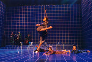 Choreographer:  Patrizia van Roesel Company: Reflex Lightdesign:  Niko van der Klugt  Stadsschouwburg Groningen