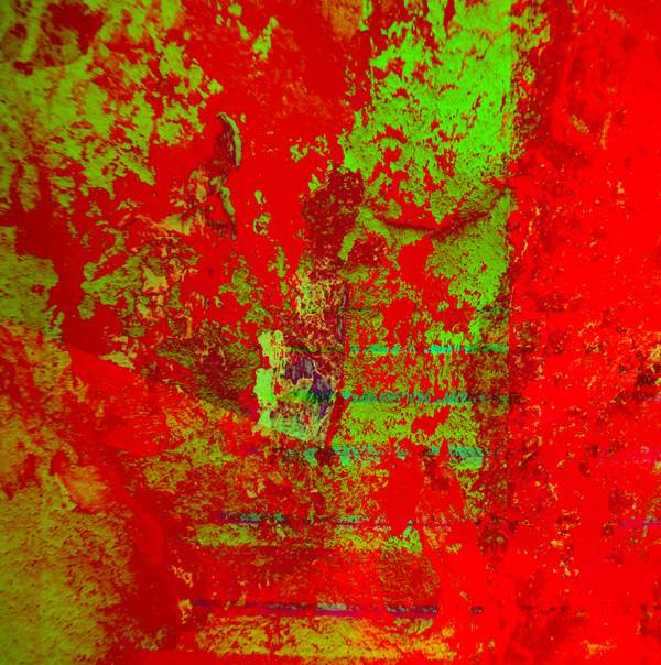 REDGREEN  120 W x 120 H cm  lambda print/dibond/acrylic Limited edition (7+1) @2016 / Abstract   From the series COSMIC