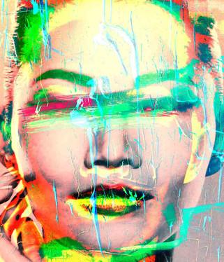 120x120  lambda print/dibond/acrylic Limited edition (3+1)    Model:  Portrait / 2z11  @2020