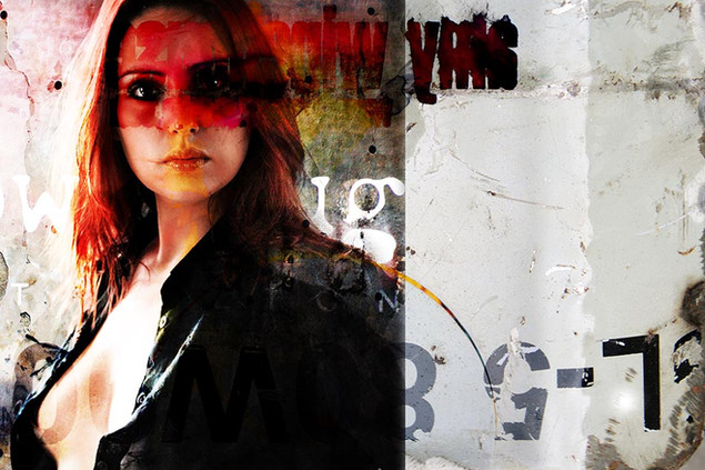 105 W x 70 H cm  lambda print/dibond/acrylic Limited edition (3+1)    Model: Stephanie Portrait / 83c3   @2020