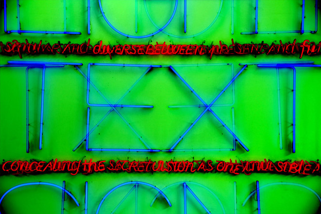 BREGENZ  105 W x 70 H cm  lambda print/dibond/acrylic Limited edition (3+1)   @2018 / Typography / t7  From the series;  DECONSTRUCTED URBAN POSTERS