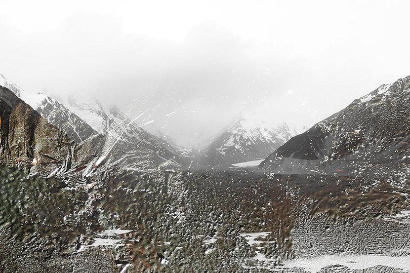Landscapes Nzsneeuw1 / © 2021 100x120 / 70x100 1/3+1  Jozef Glasier, New Zealand