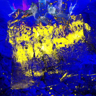 METEOR M8  120 W x 120 H cm  lambda print/dibond/acrylic Limited edition (7+1) @2016 / Abstract / 81  From the series COSMIC