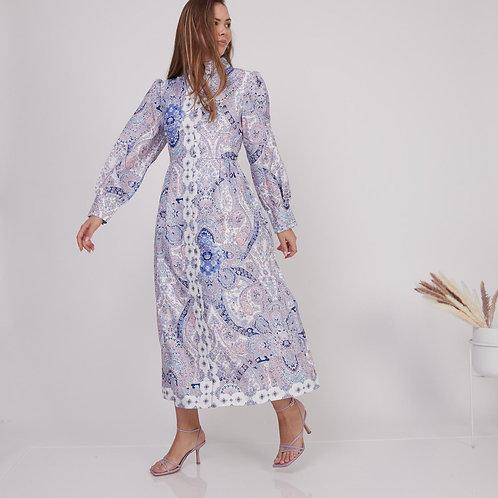 שמלה דגם לילך