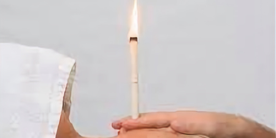 Thermal Auricular Therapy- Hopi Ear Candling