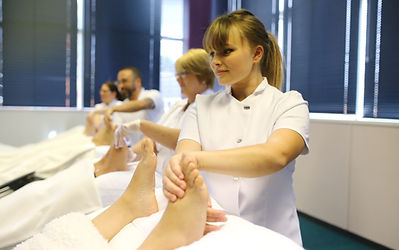 Learners at Temple Academy of Reflexology