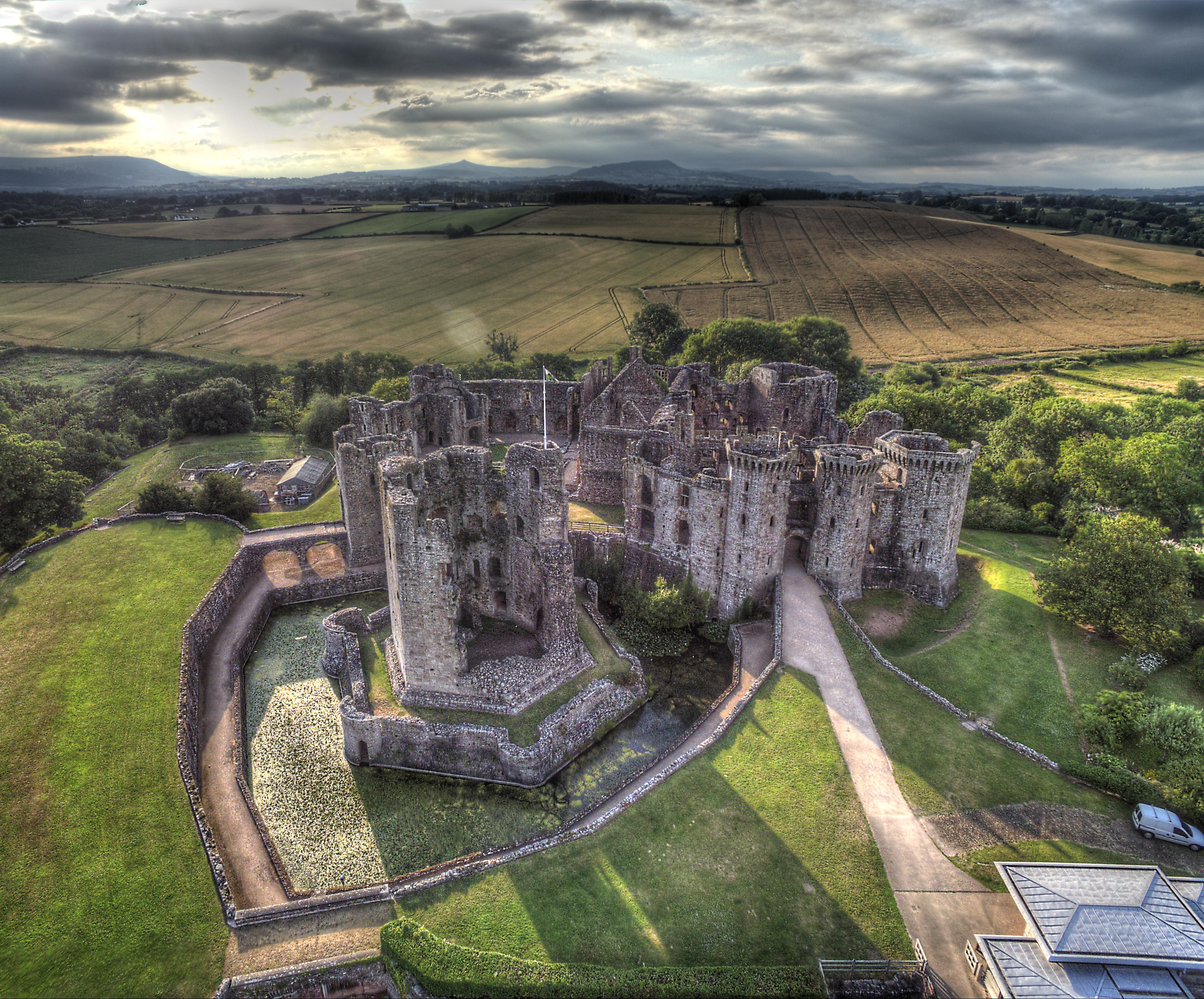 Raglan Castle HDR