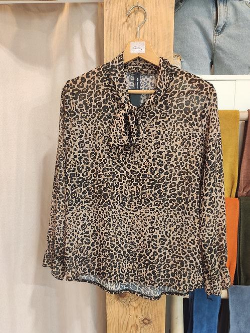 Chemisier Leopard